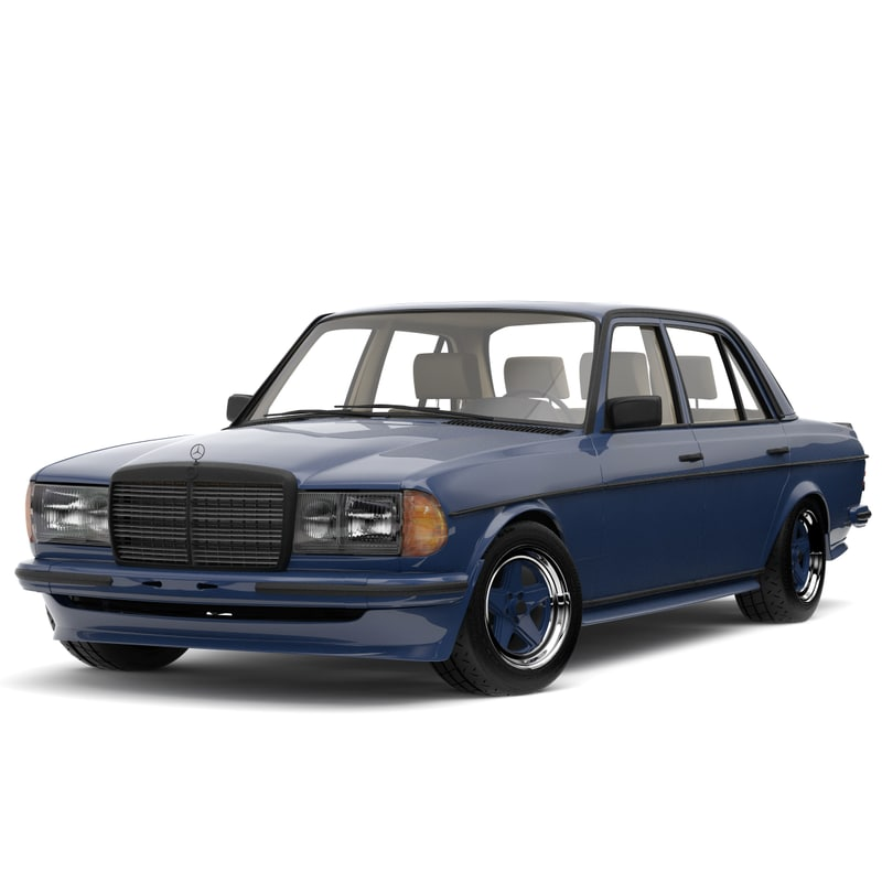 3ds Mercedes Benz W123 Amg Edition