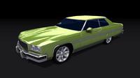 3d model chevrolet caprice 1975