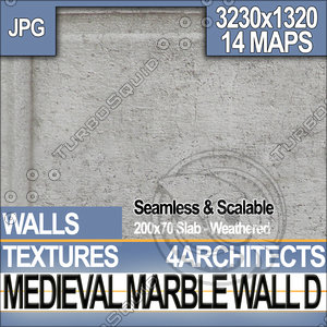 Medieval Marble Wall D