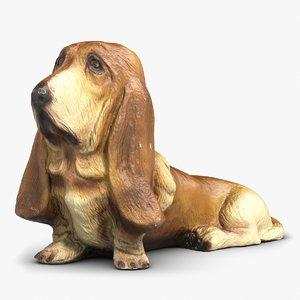 max basset hound statuette