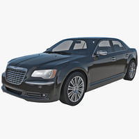 chrysler 300s 2014 2 3d c4d