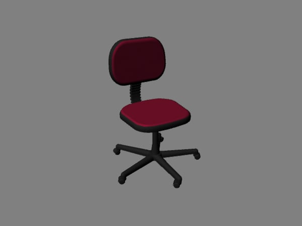 small office chair obj