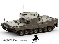 Leopard 2A4 Dutch version