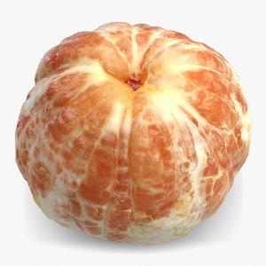 3d grapefruit peel 2 model