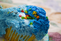 Blue Cubcake Frosting