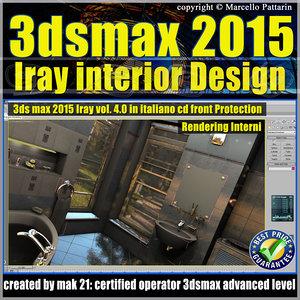 3ds max 2015 Interior Design Volume 4.0 Cd Front