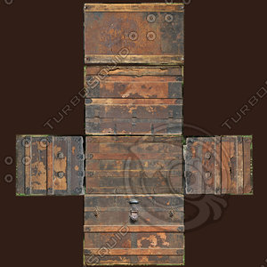 HUGE Old Chest Texture