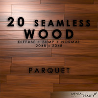 20 High Resolution Seamless Wood Textures - Parquet