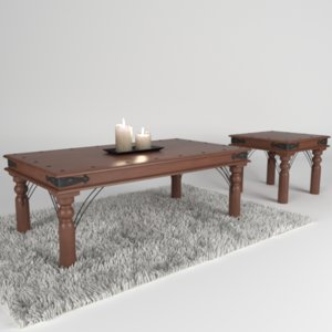 cozy sofa table 3d max