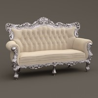 3d model fabulous sofa