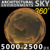 Sky 360 Sunset 024 5000x2500
