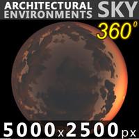 Sky 360 Sunset 030 5000x2500