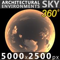 Sky 360 Sunset 041 5000x2500