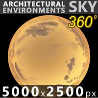 Sky 360 Sunset 053 5000x2500