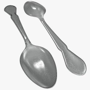 spoon 3d model