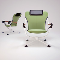 3ds max waver-chair