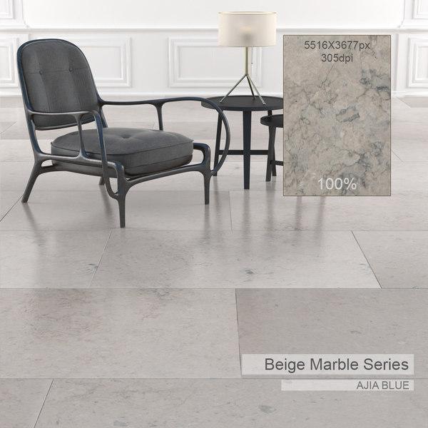 Beige Marble Textures Set