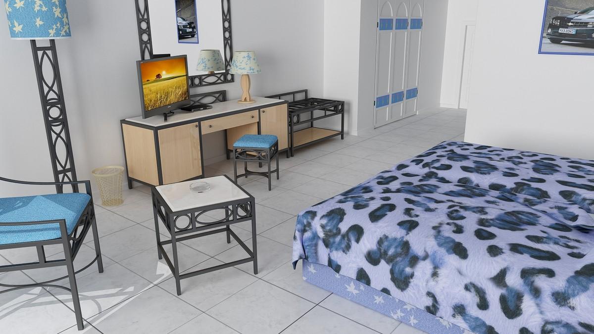 max hotel bedroom scene beds