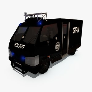 3d van gipn model