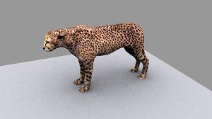 3d cheetah model