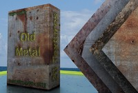 Old metal - Package with 26 textures