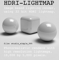HDRI studio simple 005