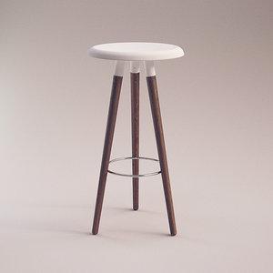 3d vig stool boconcept