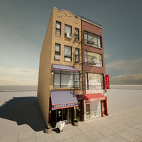 3d model new york buildings