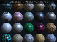ground walls seamless bumpmap textures