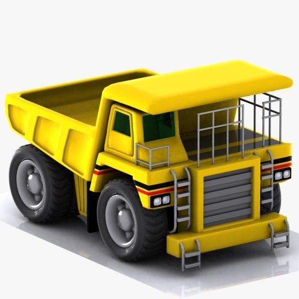 max cartoon haul truck
