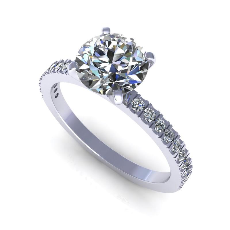 diamond ring m