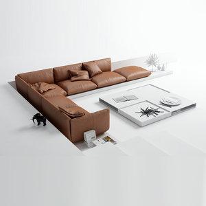 3ds max jalis sofa