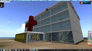 3ds quarantined hospital
