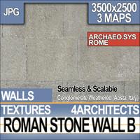 Roman Stone Wall B Aosta