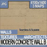 Modern Concrete Wall B