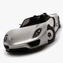 porsche 918 3D models
