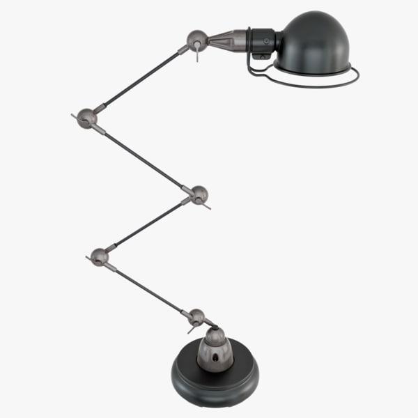 3d scissor desk lamp