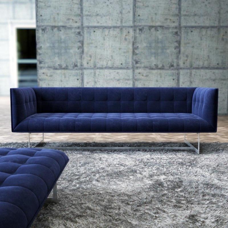 3d model edward-sofa