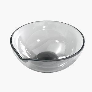 3d evaporating dish model