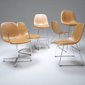 eyes-chair 3d max