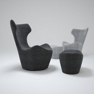 maya grande-papilio-armchair