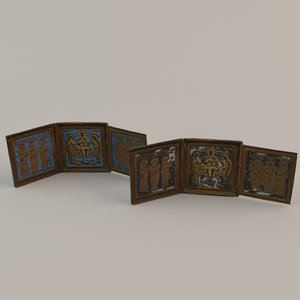 3d russian icons