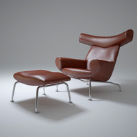3d model of ox-chair
