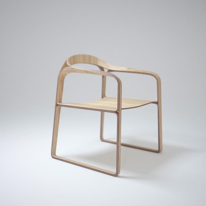 3d plooop-chair
