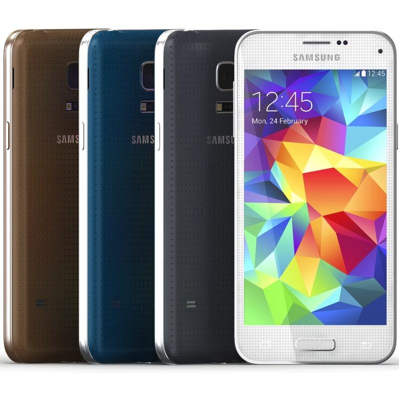 3d samsung galaxy s5 mini