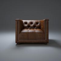 3d model savoy-sofa