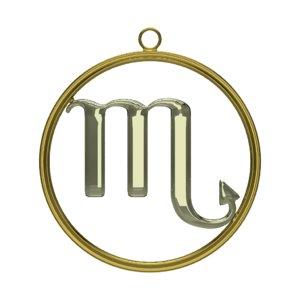 blend scorpio zodiac symbol