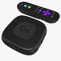 TV Streaming Player Roku 3 Set