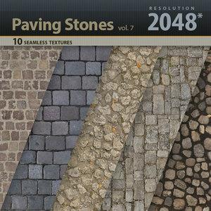 Paving Stones Textures vol.7