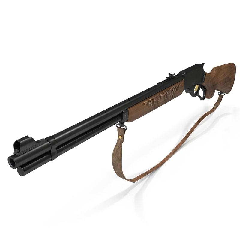 3d winchester rifle marlin 336w model